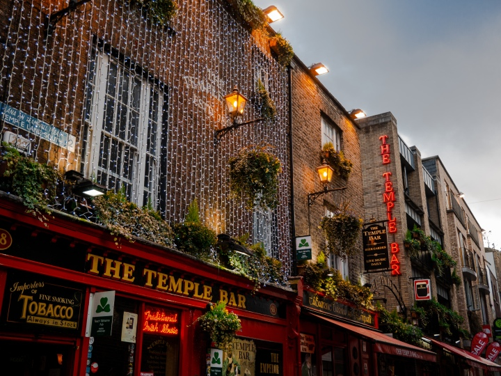 Irish pubs in Dublin